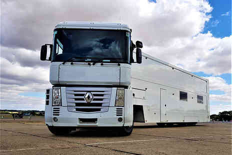 Supercar Test Drives - 45 minute lorry driving experience with a Supercar Transporter - Save 56%