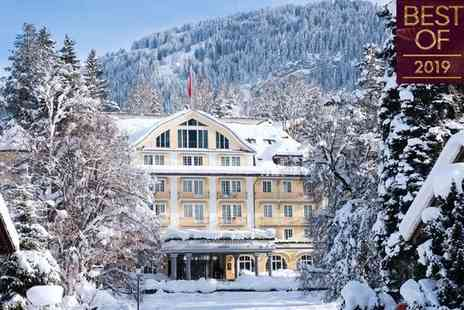 Le Grand Bellevue - Five Star Luxury Collection Unrivalled Grandeur in Stunning Swiss Alps - Save 42%