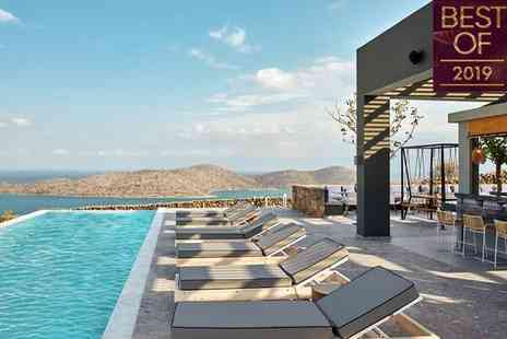 Elounda Blu - Four Star Stylish Adults-Only Getaway on Stunning Coastline for two - Save 0%