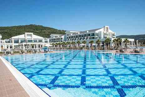 Korumar Ephesus Beach & Spa Resort - Five Star All Inclusive Escape at Sprawling, Award Winning Resort for two - Save 0%