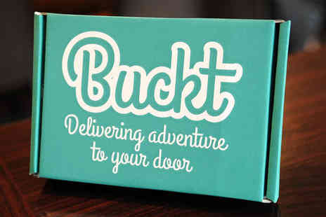 Buckt - One month Buckt activity box subscription for one person - Save 59%