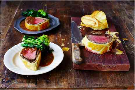 The Jamie Oliver Cookery School - Showstopping Beef Wellington Class - Save 0%