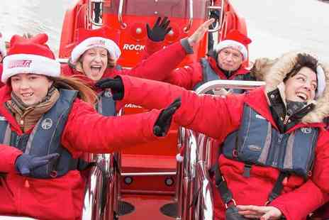 Thames Rockets - Jingle Bell Blast Ride like Santas Sleigh, Carols, Cozy Fleeces and Christmas Goodies - Save 23%