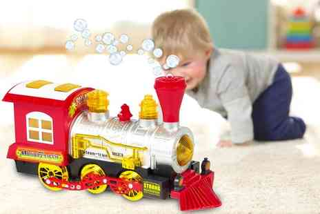 CN Direct Biz - Bubble blowing toy train - Save 76%