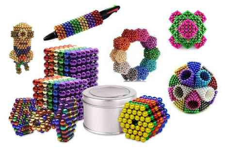 Pricebuster - 216 piece magnetic 3mm magnetic puzzle ball set Choose your size and colour - Save 55%