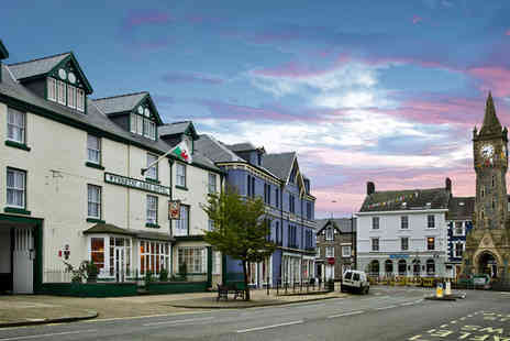 The Wynnstay Hotel - Overnight Snowdonia stay for two people with dinner allowance each and breakfast - Save 63%