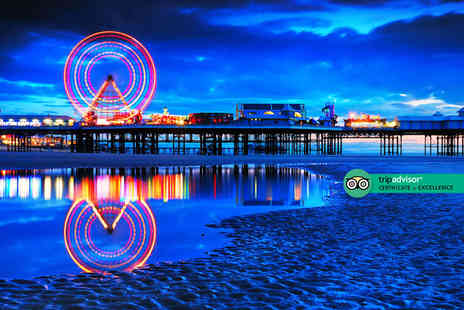 The Carousel - Overnight Blackpool stay for two people with two course dinner, bottle of Prosecco, breakfast, late check out and early check in - Save 0%