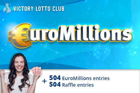 JAYMO Solutions - Syndicated EuroMillions lines and 504 syndicated raffle entries - Save 0%