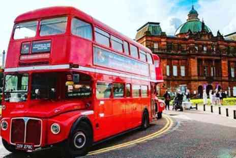 Red Bus Bistro - Christmas Bus Tour with Three Course Meal from 1st To 22nd December - Save 35%