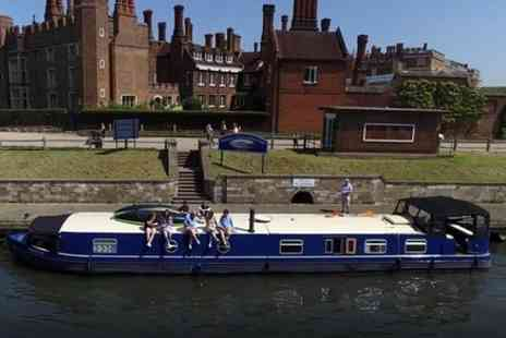 Luigi Gartner - Exploring the River Thames from Walton to Hampton Court Palace by barge - Save 0%