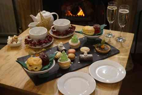 Pub Leisure - Christmas Cream Tea with Optional Glass of Prosecco for Two or Four - Save 25%