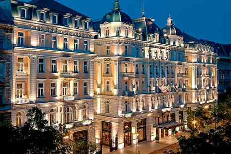 Corinthia Hotel Budapest - Five Star Luxury Collection Grand Hotel near the Famous Basilica for two - Save 79%