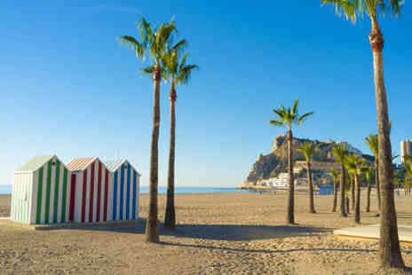 Super Escapes Travel - Four nights half board Benidorm holiday with return flights - Save 33%