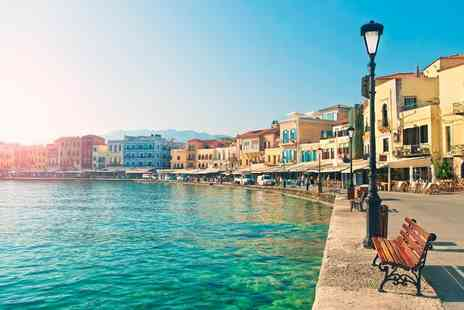 Super Escapes Travel - Seven nights all inclusive Crete beach break with flights - Save 32%