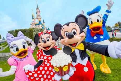 Super Escapes Travel - Two nights Disneyland Paris break with return flights or Eurostar - Save 24%