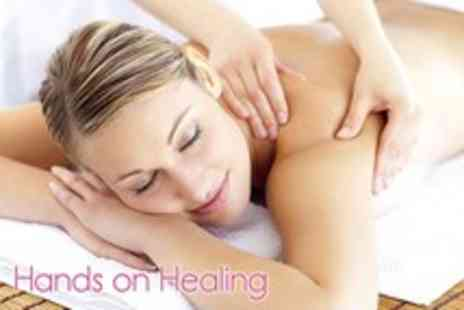 Hands on Healing - 60 minute Swedish massage Refloxology or Reiki session - Save 63%