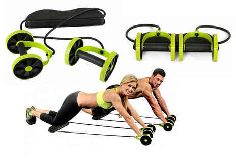 hey4beauty - Abdominal resistance fitness roller - Save 0%