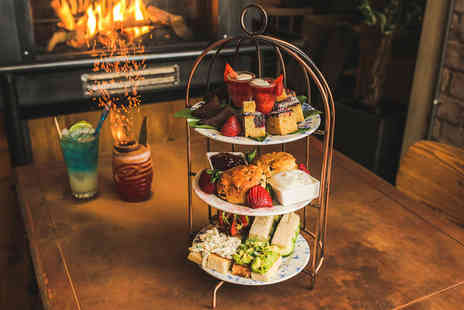 Revolution Bars - Cocktail afternoon tea for two people - Save 50%
