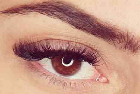Spoilt Rotten Hair and Lash Artistry - Full Set of Natural or Mega Volume Eyelash Extensions - Save 52%