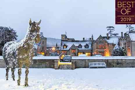 Ellenborough Park - Five Star Opulent 15th Century Award-Winning Estate for two - Save 54%