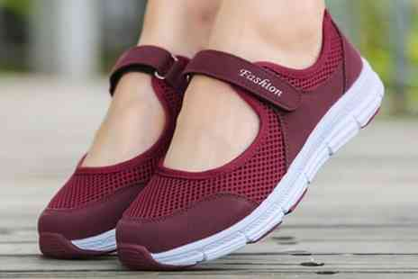 Groupon Goods Global GmbH - Womens Slip On Breathable Sneakers - Save 0%