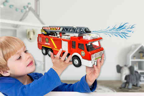 My Brand Logic - Water spraying fire truck - Save 67%