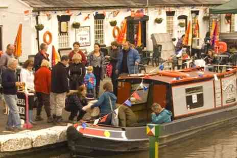 Norbury Wharf - Three Hour Lunch Cruise with Traditional Fish and Chips for Two or Four - Save 48%