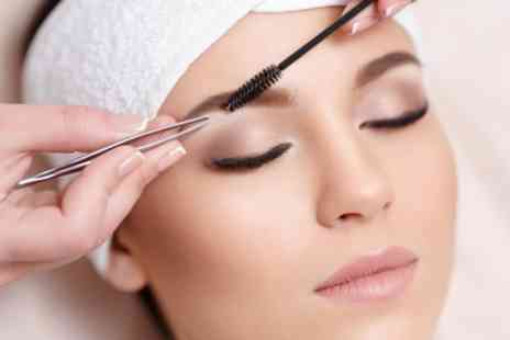 Shear Beauty - Eyebrow Wax and Tint or Eyelash Lift and Tint - Save 53%