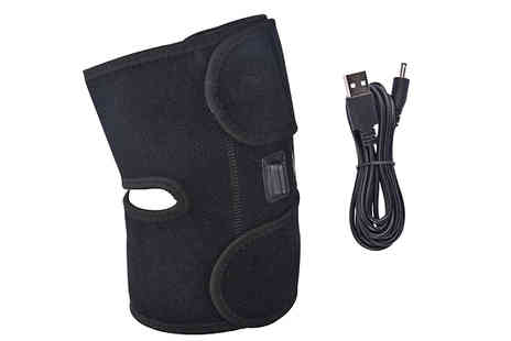 Bag A Bargain - 3 in 1 Heated Physiotherapy Knee Brace Plus Ice Pack Pocket - Save 78%