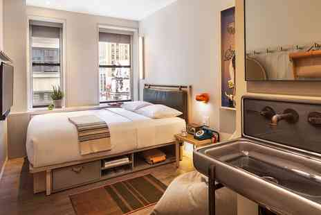 Moxy NYC Times Square - Chic Times Square Hotel with £38 Credit - Save 0%