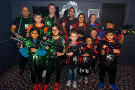 Airobounce - 30 Minute Game of Laser Tag for Up to Four - Save 45%
