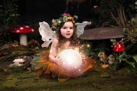 Nicola Bald Photography - One hour fairy or elf photoshoot for one child including an A4 presented print and digital image, calendar - Save 91%