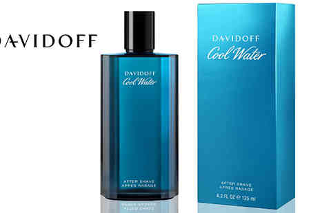 Fragrance and Cosmetics - Davidoff Cool Water Aftershave 125ml - Save 80%