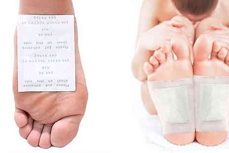 Domosecret - 20, 40 or 100 Detox Foot Pads - Save 80%