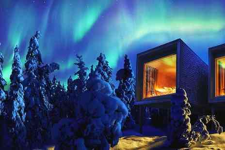 Arctic TreeHouse Hotel - Four Star Magical Lapland Escape with Optional City Experience - Save 0%