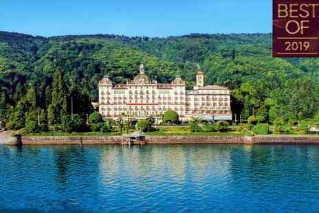 Grand Hotel Des Iles Borromees - Five Star Luxury Collection Lakeside Art Nouveau Spa Hotel for two - Save 65%