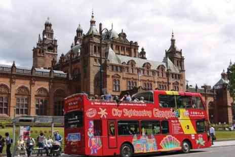 City Sightseeing Glasgow - Tickets to see Hop On Hop Off Glasgow 2 Days - Save 0%