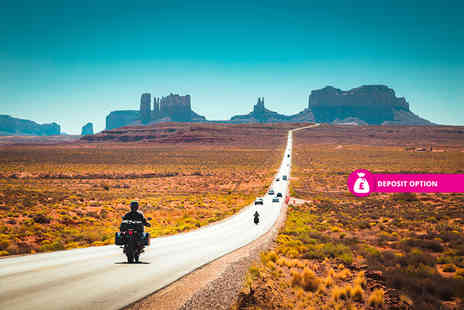 Just Book Sports - 14 nights Route 66 American road trip with car hire, accommodation and return flights - Save 0%