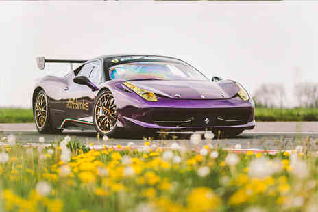 Drift Limits - 14 lap Ferrari 458 driving experience - Save 50%