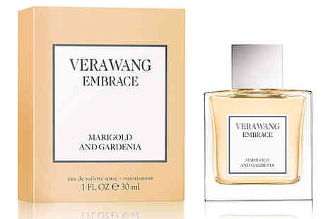 Fragrance and Cosmetics - Vera Wang Embrace Marigold and Gardenia Edt 30ml Spray - Save 70%