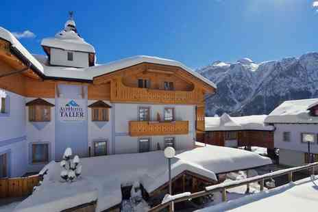 AlpHotel Taller Wellness & Sport - Four Star Traditionally Chic Chalet in Stunning Alpine Folgarida for two - Save 59%