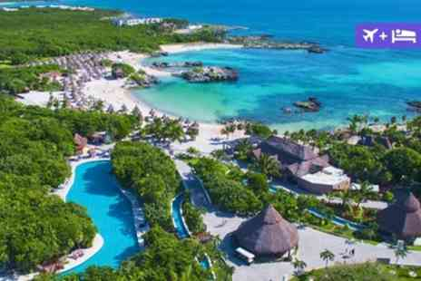 Grand Sirenis Riviera Maya Resort - Five Star Accommodation selected All inclusive package Private beach - Save 0%