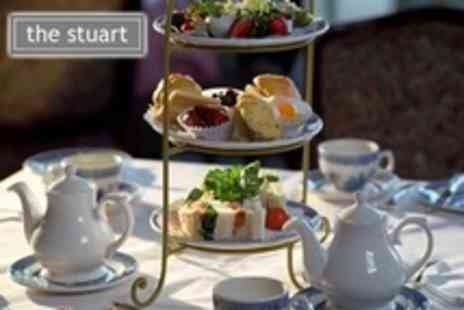 The Stuart Hotel - Afternoon Tea For Two - Save 65%