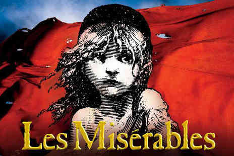 Just Book Sports - Four Star Overnight London stay with Les Miserables tickets - Save 0%