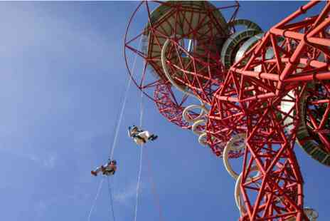 Arcelormittal Orbit - Highest freefall abseil for one - Save 0%