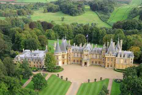 Virgin Experience Days - Visit to Waddesdon Manor House and Gardens with Sparkling Afternoon Tea for Two - Save 0%