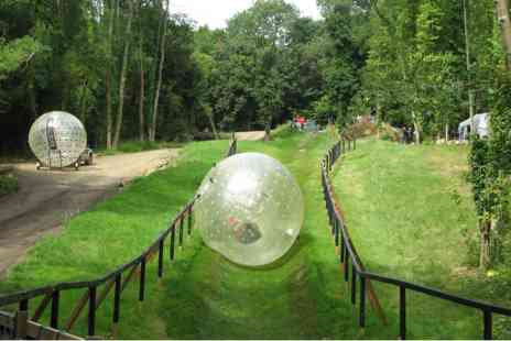 Virgin Experience Days - Zorbing Experience for Two - Save 0%
