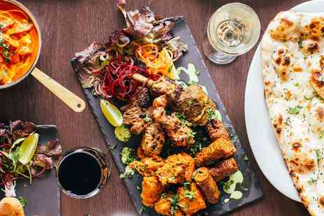 Everest Edinburgh - Nepalese meal and glass of wine for Two - Save 53%