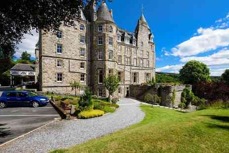 Atholl Palace Hotel - Four Star One night Scottish getaway for two people with breakfast, three course dinner, a bottle of wine and full leisure access - Save 0%