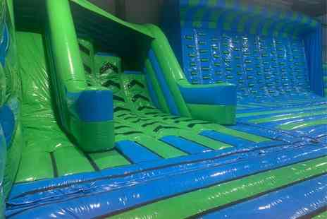 Innoflate - Two hour inflatable theme park session for one person - Save 55%